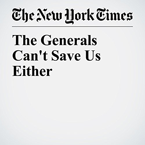The Generals Can't Save Us Either copertina