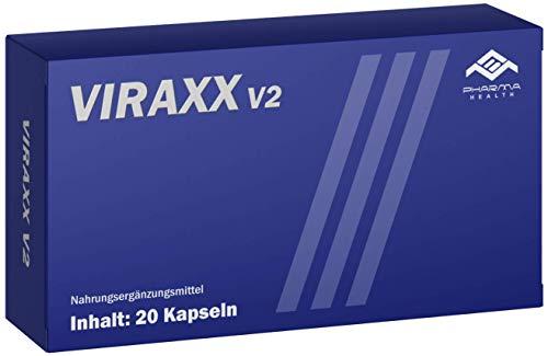 Viraxx V2 | Neue Formel | Ultra STARK | 20 Kapseln