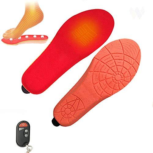 Calefacción Plantillas Para Los Zapatos, Mando A Distancia Inteligente Calefacción Eléctrica Plantilla...