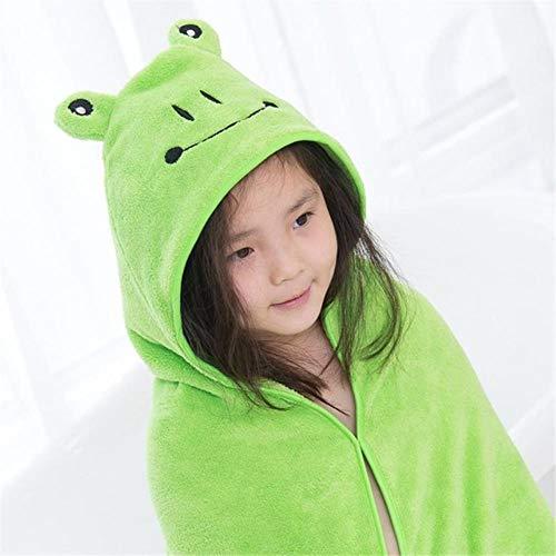 Gbcyp Mooie babybadhanddoek schattige dierenvorm kind hooded babyhanddoek badjas mantel baby ontvangende deken, 7