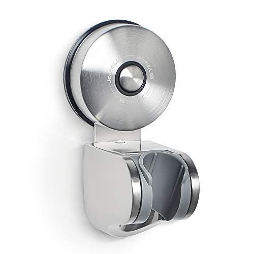 吸盤 シャワーフック シャワーヘッドホルダー 超強力 お風呂に取付 角度調整可能