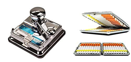 Mikromatic Duo Máquina de tostado incluye pitillera SweedZ