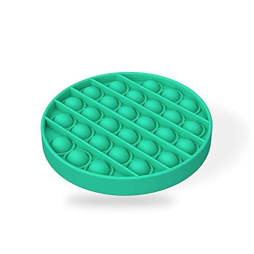 U/D Push and Pop Bubble Sensory Zappelspielzeug, Stress abbauen, mit Freunden zu Hause und in der Schule Spielen können (Green)