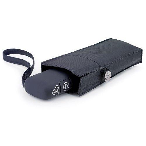 Fulton automatische Öffnen und Schließen 101 Flache Kompaktschirm Schwarz