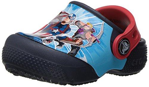 Crocs - Boys '- funlab Marvel Avengers Clog, EUR: 19-20, Navy