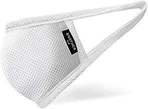 【Lサイズ】Another Air COOLメッシュマスク 抗菌 UVカット 吸湿 速乾 夏マスク フィルターポケット (ホワイト)