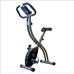 HY-WWK Bicicleta Estática Plegable, Bicicleta Estática de Interior Bicicleta Magnética Silenciosa de Control Magnético con Pantalla Led Adecuada para Ejercicio Aeróbico en Interiores
