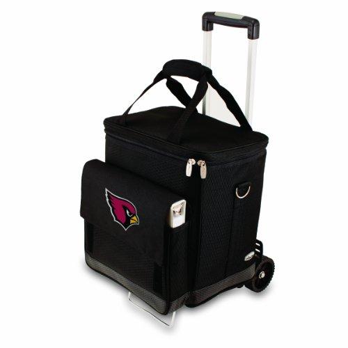 Picnic Time NFL Arizona Cardinals isolierte Weintasche mit Trolley für 6 Flaschen
