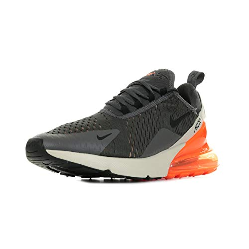 Nike Herren Men's Air Max 270 Shoe Leichtathletikschuhe, Mehrfarbig (Thunder Grey/Black/Desert Sand 024), 45.5 EU
