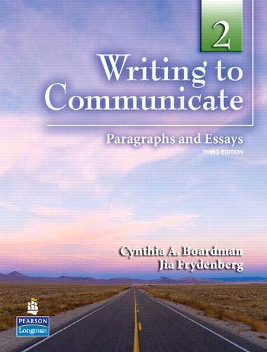 WRITING TO COMMUNICATE 2 3/E STBK 235116