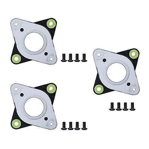 NEMA Lot de 3 amortisseurs de vibrations en acier et caoutchouc avec vis M3 pour machine CNC Creality CR-10,10S, imprimante 3D