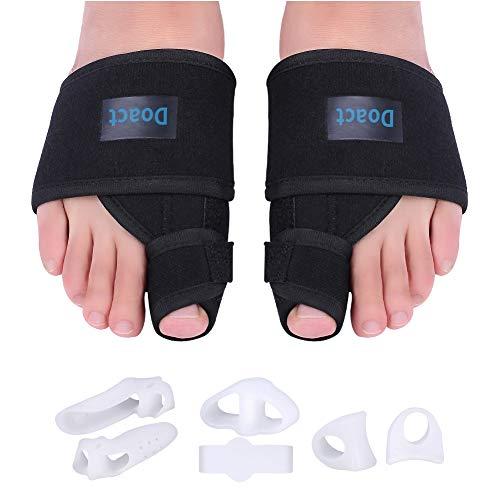 1 par de correctores para alisar los dedos del pie del juanete 3 pares de separadores de dedos de gel de silicona separadores de dedos del dedo del pie separadores de gel para juanetes Dedos(S)