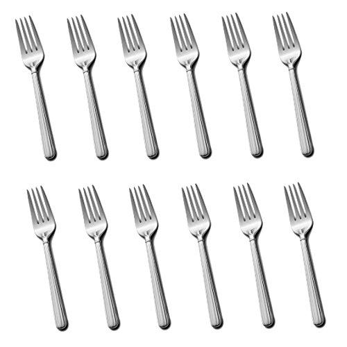 Mikasa Italian Countryside 18/10 Stainless Steel 6 5/8' Salad Fork (Set of Twelve)