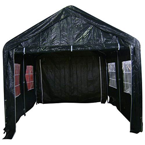 GXK Giebelplane Giebelwand für Pavillon Partyzelt Zeltplane Zelt 4m dunkelgrün