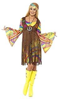 Smiffys Femme groove des années 60, avec robe, gilet imprimé et bandeau - Taille M (B00AZGDSLW) | Amazon price tracker / tracking, Amazon price history charts, Amazon price watches, Amazon price drop alerts