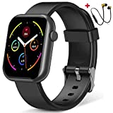 Smartwatch Orologio Fitness Impermeabile IP68 Smart Watch Cardiofrequenzimetro da Polso Contapassi Smartband Activity Tracker Cronometro per Android iOS Uomo Donna