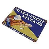 NIVEA CREME nicht rostendes Blechschild Eisentafel Retro