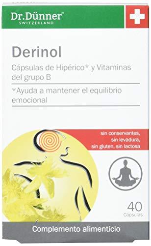 DR.DUNNER DERINOL 40 Caps, No aplicable