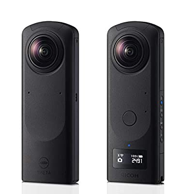 "Theta Z1 360 degree Spherical Camera with dual 1"" Sensors USA Model by RICOH"