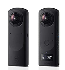 23MP resolution 360 degree still images using a large sensor and a new type of lens unit The camera is equipped with 2, 1. 0 Inch back illuminated CMOS Image Sensor, one of the largest for consumer 360 degree cameras; It incorporates two units that c...
