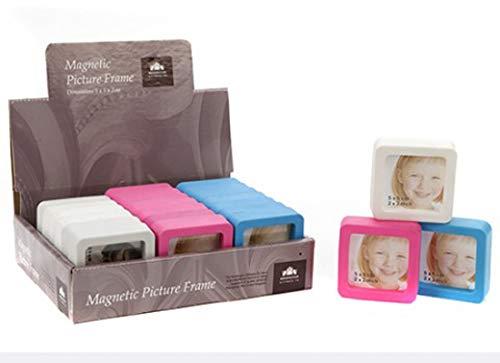 Homestreet Mini Magnetisch Frame, Ideaal voor Koelkast, Vaatwasser of Filing Kasten en meer, Kies uw kleur of koop alle 3