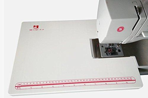 HONEYSEW Mesa extensible portátil / grande de coser para Singer 4411 4423 4432 5511 5523 máquina de coser