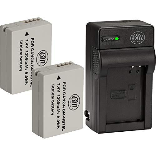 BM Premium 2 Pack of NB-10L Battery…