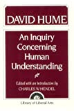 An Inquiry Concerning Human Understanding by David Hume(1905-06-17) - Pearson - 17/06/1905