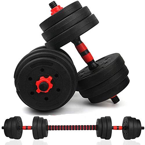 Joseph Verstellbare Kurzhantel für Herren, Gewichtsverlust, Fitnessgerät, für Zuhause, Bauchmuskeltraining, 40kg