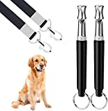 Best Dog Whistles - Dog Whistle, 2 Pack Ultrasonic Dog Whistle Review