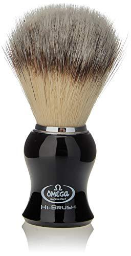 """Omega 46206 - Pennello da barba in fibra""""Hi-Brush"""""""