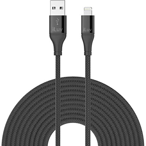 iLuv 6' Lightning Cable - Retail Packaging - Black