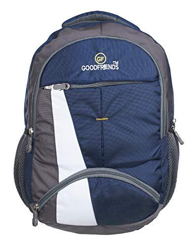 GOOD FRIENDS 30 Liters 33 cm Laptop Backpack (GF_Blue)