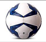 qzpyy Football Sport Taille 4 5 Ballon de Football Intérieur en Plein Air Doux Éponge Mousse Ballon D'entraînement pour Adultes Et Enfants Garçons Filles Enfants-Bleu_5