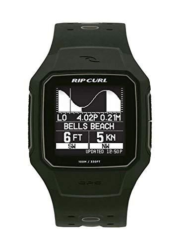 RIP CURL Reloj de Surf Inteligente Search GPS Series 2 - Verde Militar - Unisex