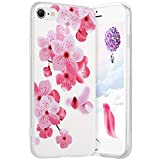 Robinsoni Cover per iPhone 7 Cover Silicone iPhone 8 Case Trasparente Custodia in Gomma Mo...