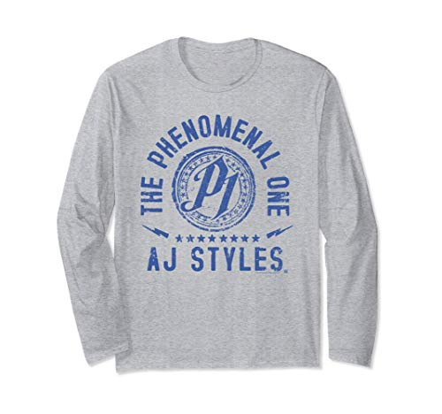 WWE AJ Styles Phenomenal Long Sleeve T-Shirt