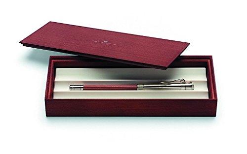 Graf von Faber-Castell Sterling Silber perfekter Bleistift–Braun
