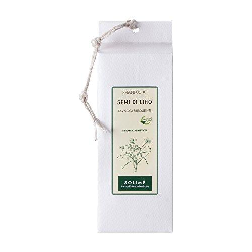 Shampooing aux graines de lin pour lavages fréquents 200 ml – Produit erboristico fabriqué en italie