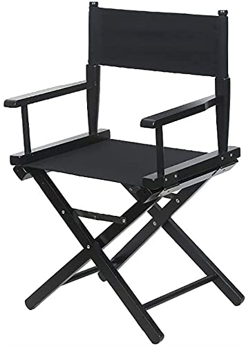 Silla plegable de jardín, sillas plegables Silla de director al aire libre resistente, silla de maquillaje plegable, silla portátil para eventos de camping de jardín de pesca Sillas de camping (Color: