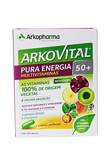ARKOCAPIL - 60 Cápsulas Pura Energía Arkovital Arkopharma