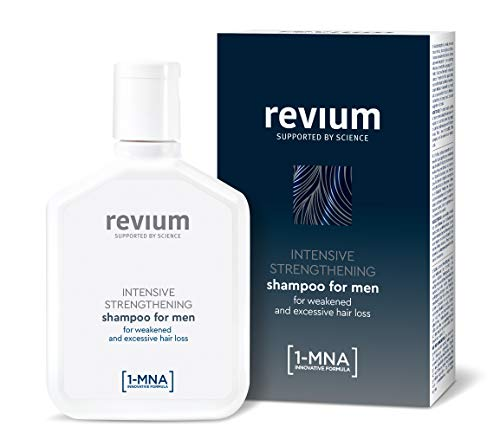 REVIUM INTENSIVE ANTI- HAIR LOSS SHAMPOO FOR MEN WITH 1- MNA MOLECULE AND H- VIT COMPLEX,  FOR WEAK EXCESSIVELY FALLING OUT HAIR 200 ml