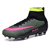 Zapatillas de fútbol Hombres Top altos TF TF TF TF TF TRIFT PROFESSIONAL AIRN FOTBALLES ZAPATOS MICROFIBLES PENSIONES PROFESIONES Zapatos de fútbol para livianos, transpirables, antideslizantes, zapat