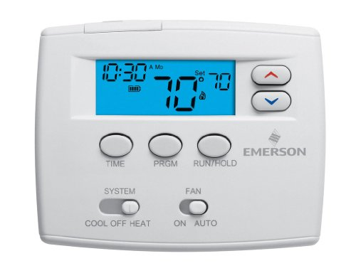 White-Rodgers 1F80-0224 NA Digital 24 Hours Programmable Thermostat with Millivolt Compatible 1F80-0224