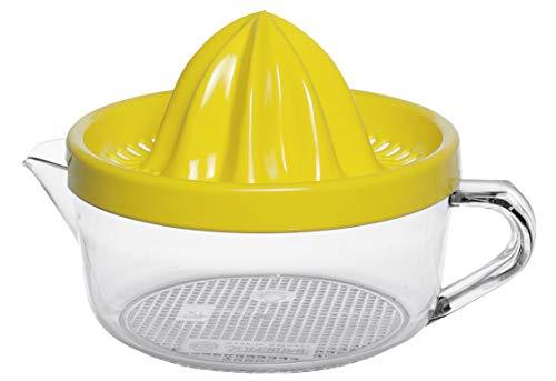 Emsa 507358 SUPERLINE Presse-agrumes, 0,4 L, transparent/jaune