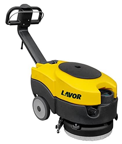 LAVOR 8.518.0069 L1 36B Lavasciuga Pavimenti Professionale con Batterie e Caricabatterie Inclusi, Giallo Grigio