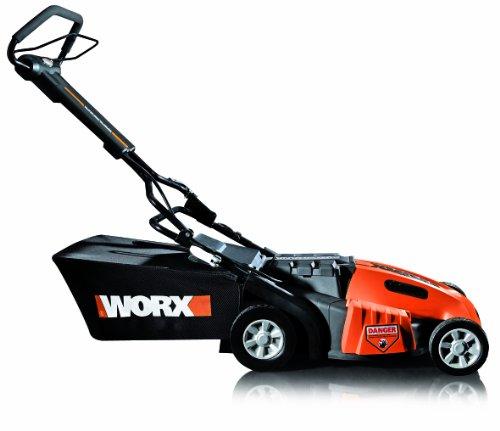 "WORX WG788 36V 19"" Cordless Electric Lawn Mower with IntelliCut"