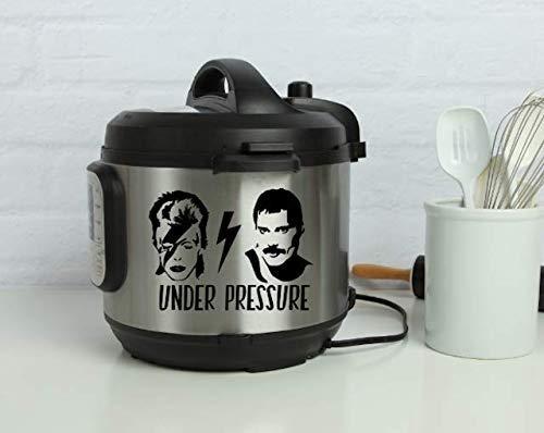 David Bowie & Freddie Mercury Under Pressure Instant Pot Decal