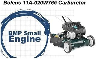 BMotorParts Carburetor Carb Assembly for Bolens Walk Behind Mower Model# 11A-020W765