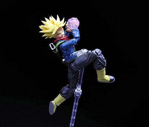 HQYCJYOE Personajes de Anime Modelo Dragon Ball Super Future Trunks Figuras móviles PVC Figura de acción Figuras colección muñeca 15cm